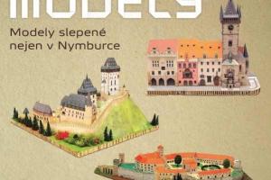 Papírové modely lepené nejen v Nymburce