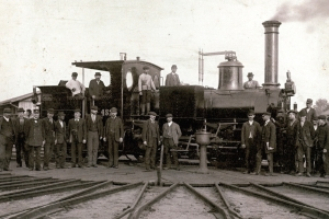 Z dějin železnice v Nymburce