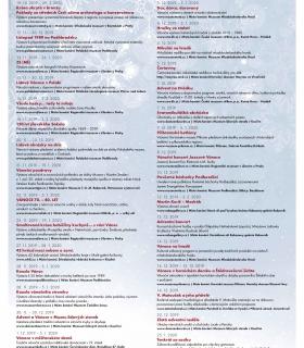 Kalendárium akcí - Středočeský kraj od prosince do února